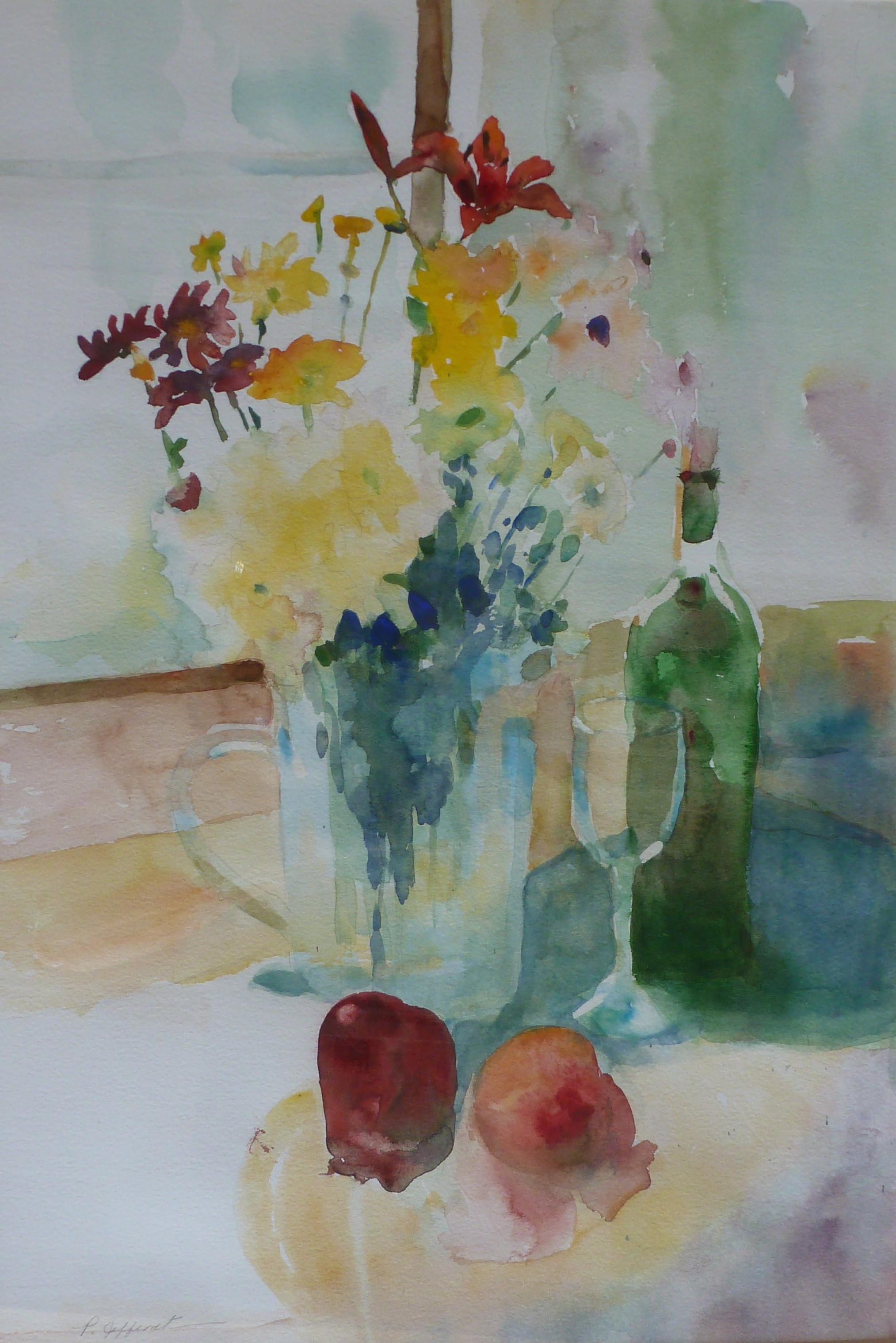 Hibiscus 1   Watercolor    $300 (pair$500)
