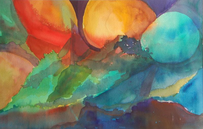 Age of Aquarius  Watercolor $450