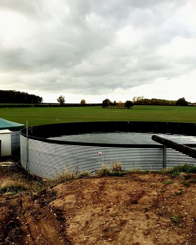 Irrigation system with tank just completed. #irrigation #horticulture #tank #plants