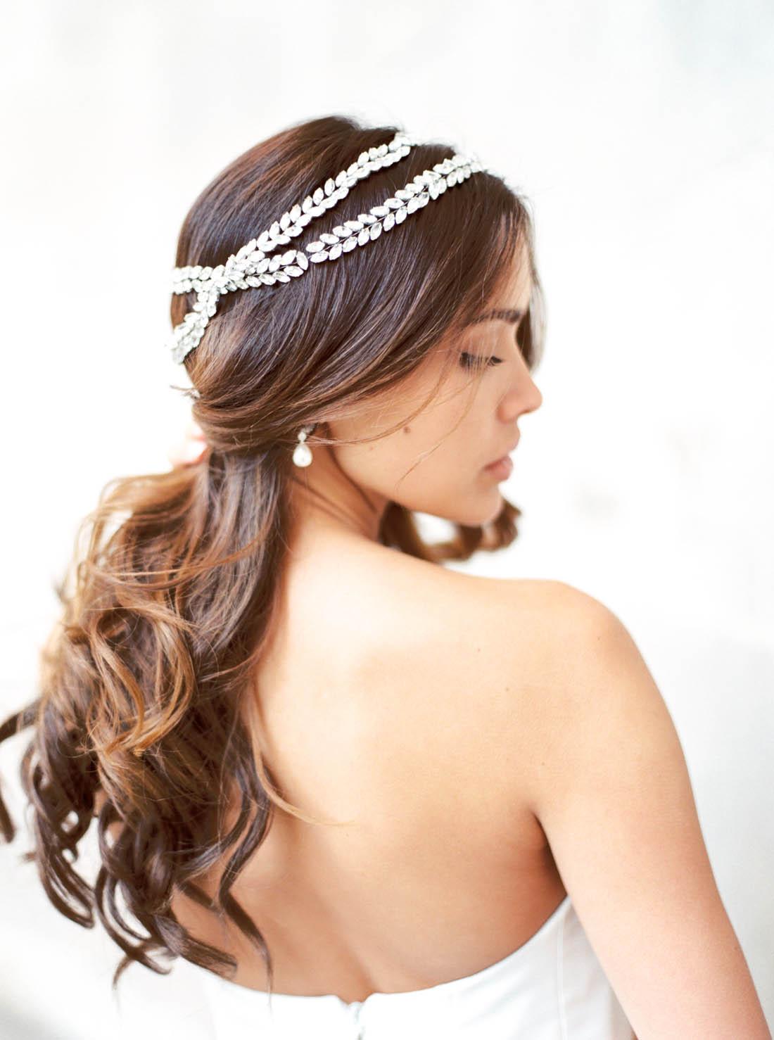 Anna Campbell Bridal Phoenix Headpiece