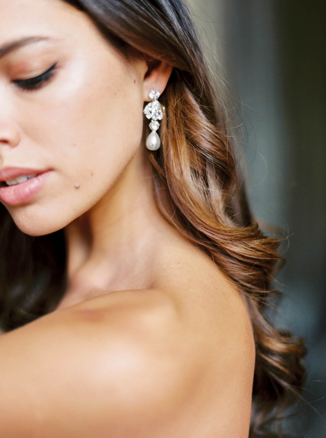 Anna Campbell Bridal Charlotte Chandelier Earring
