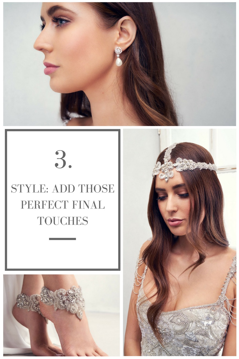 Anna Campbell Bridal Accessories and Styling