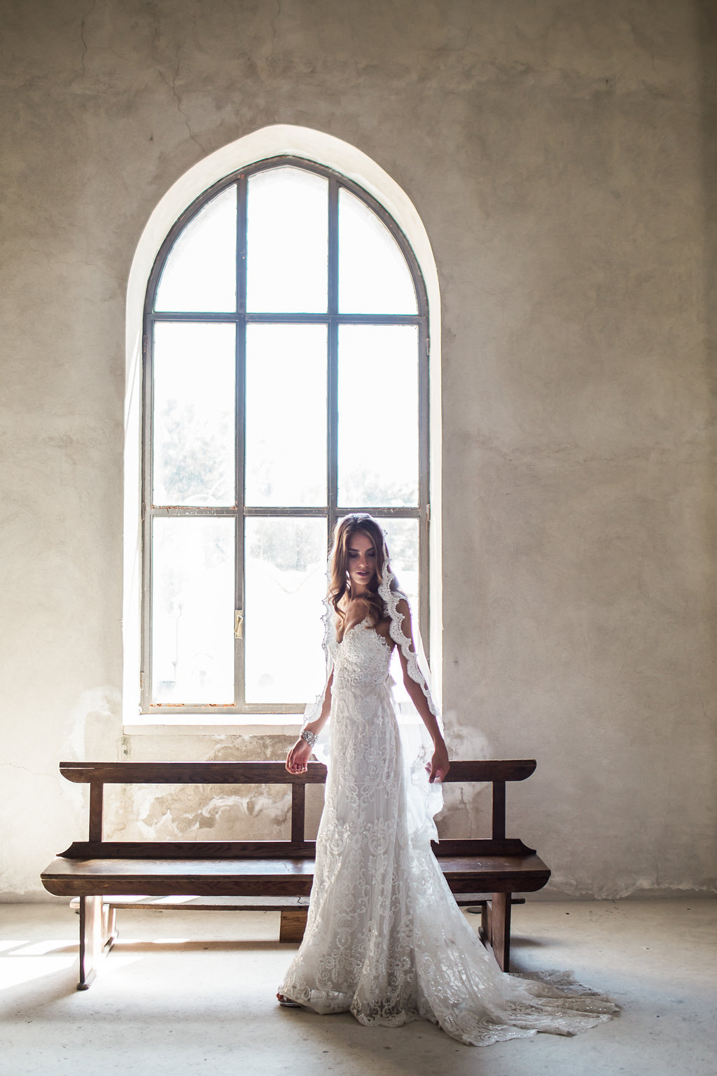 Anna Campbell Bridal | Alyssa Dress | Alyssa Veil