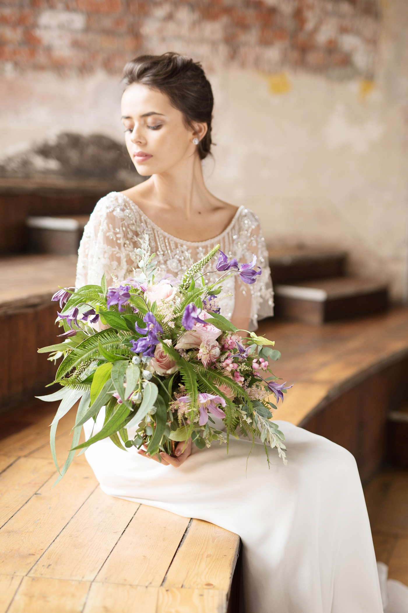 Anna Campbell Bridal   Adele Dress   Vintage Inspired Beaded Wedding Dress   Eternal Heart Collection