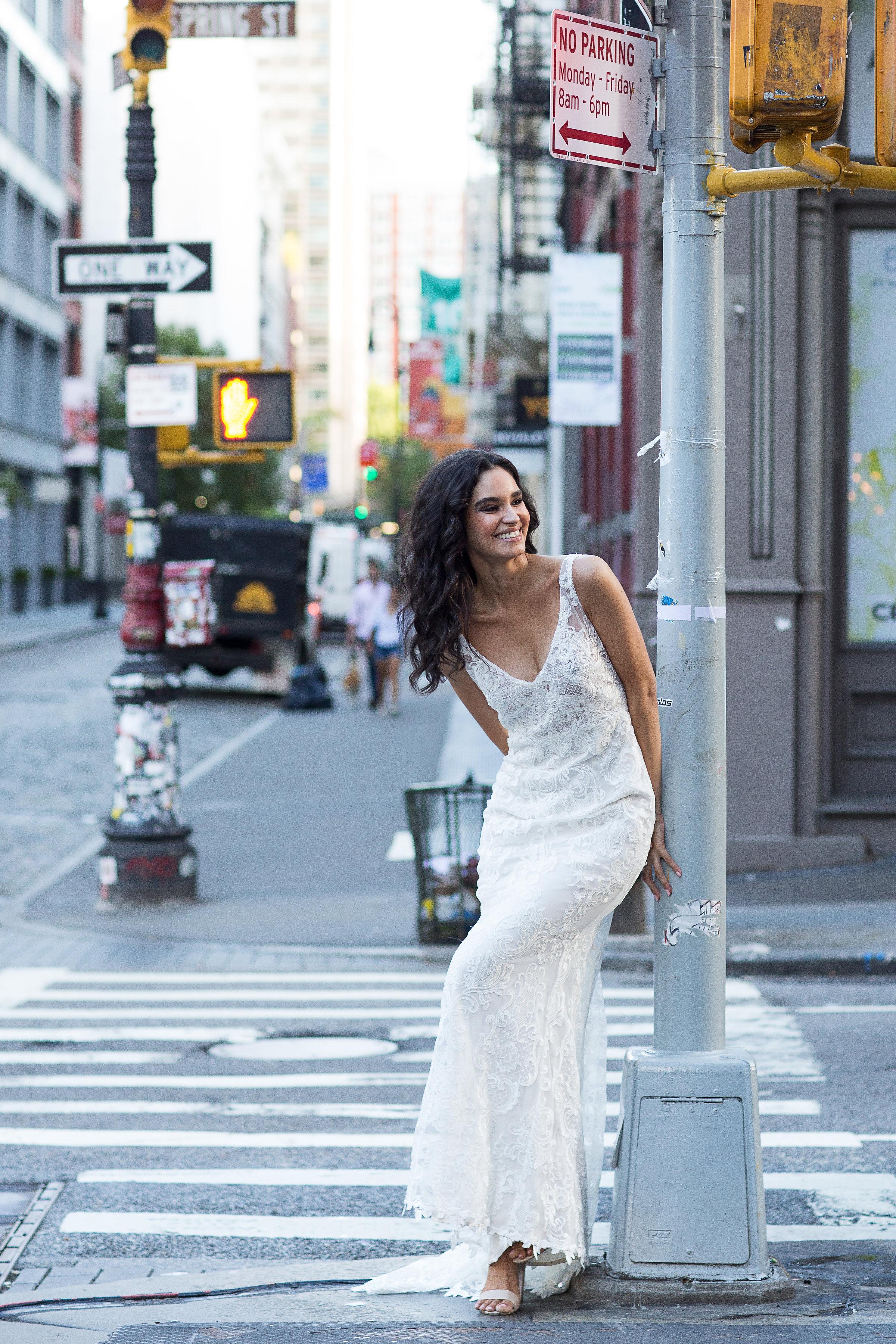 Anna Campbell Bridal | Harlow lace Wedding Dress