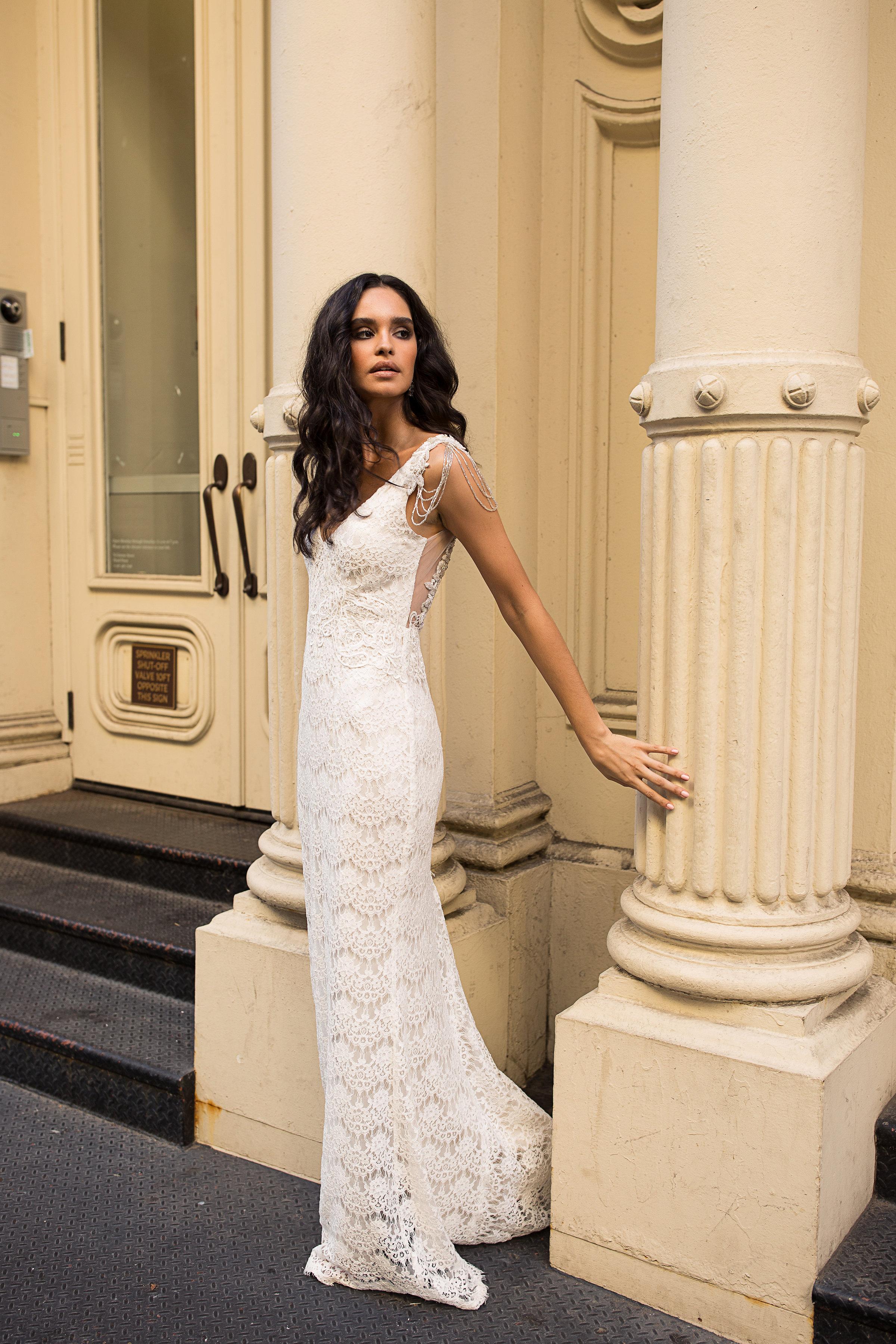 Anna Campbell Bridal | Saasha Embellished Wedding Dress
