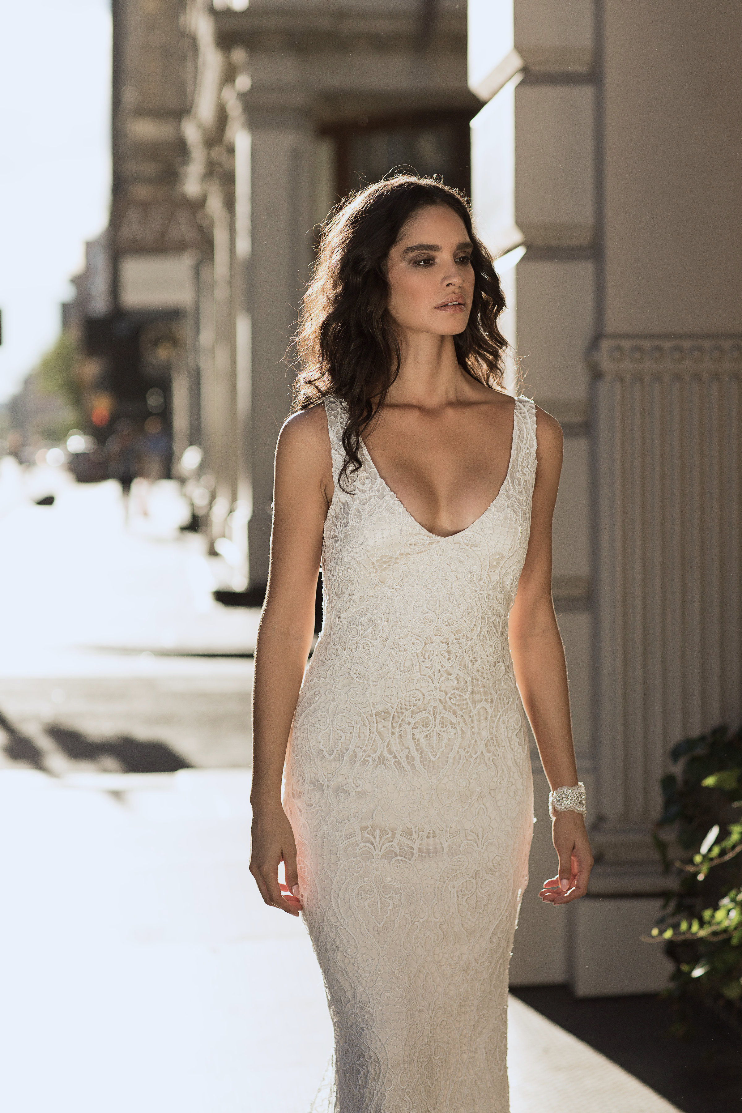 Anna Campbell Bridal | Kira lace wedding dress