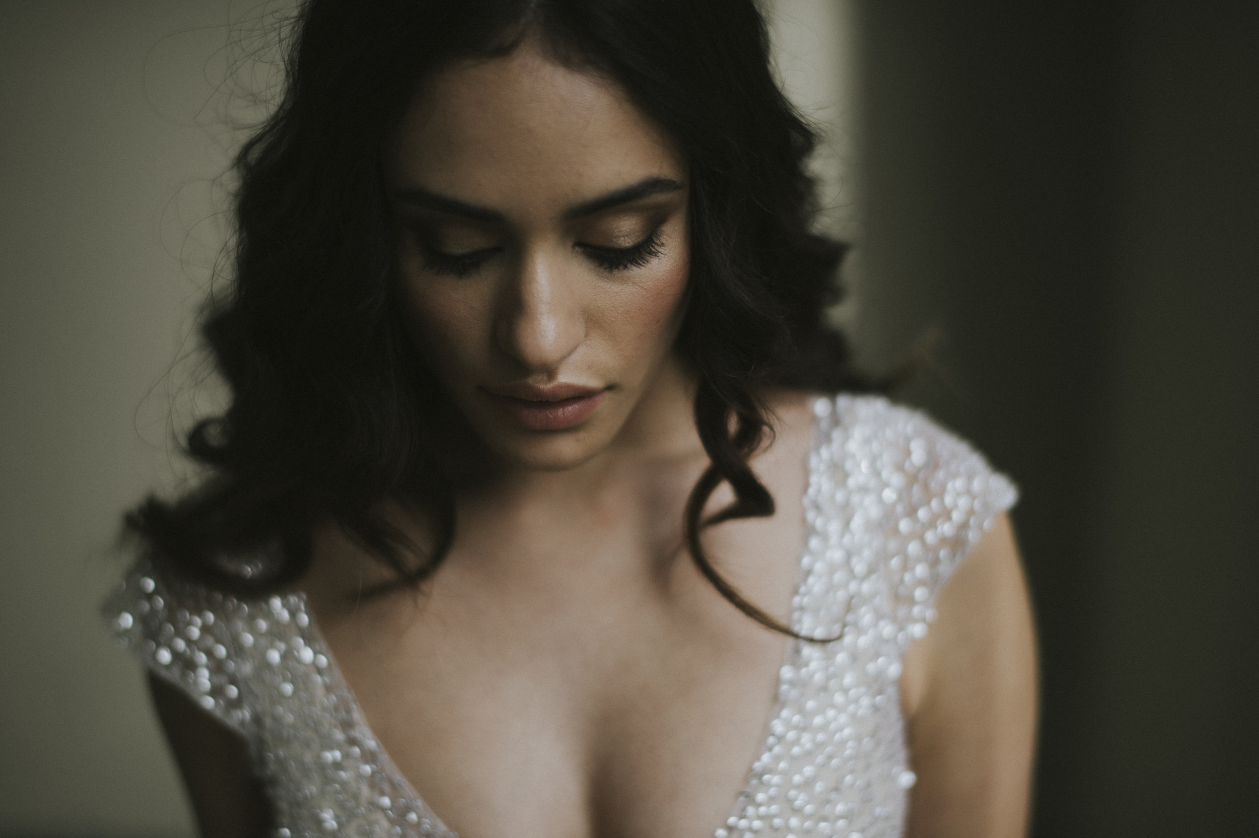 Anna Campbell Bridal | Sydney sequin wedding dress