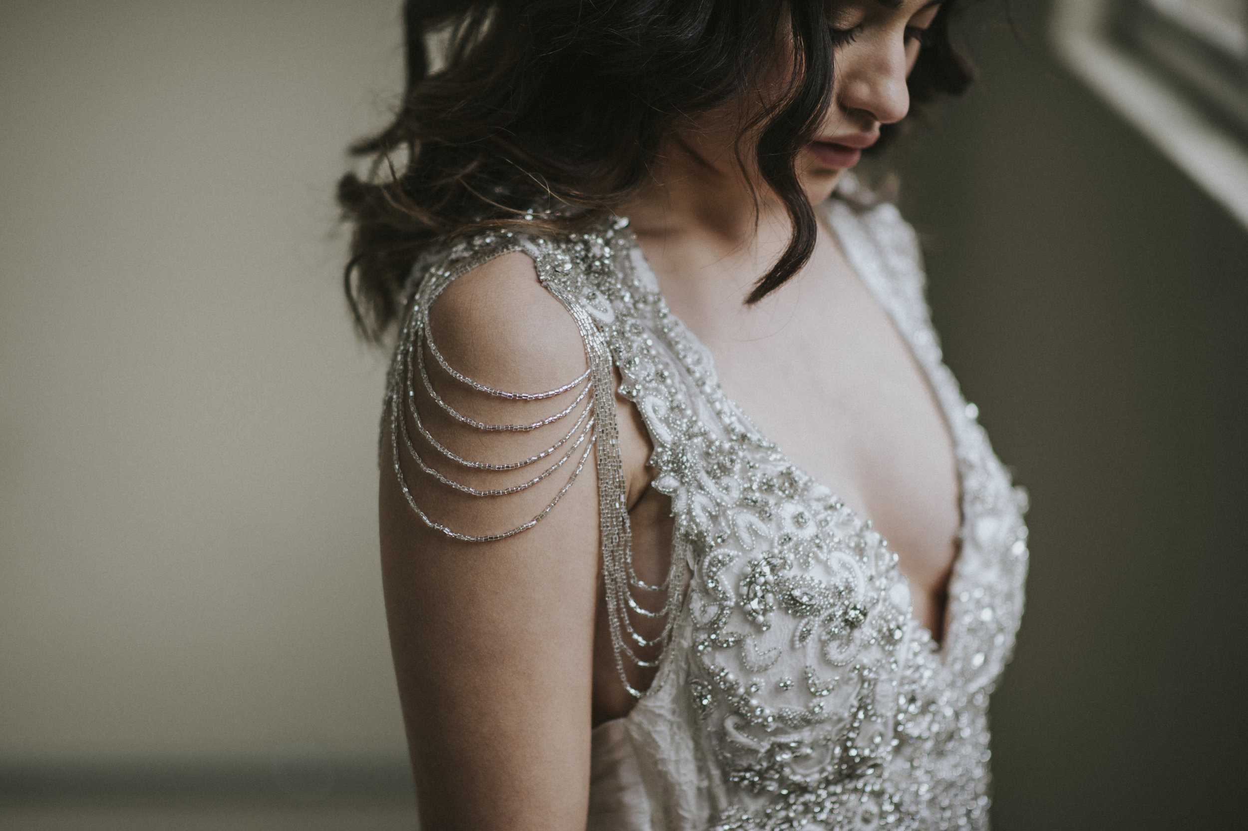 Anna Campbell Bridal | Sierra Dress | Embellished Wedding Dress