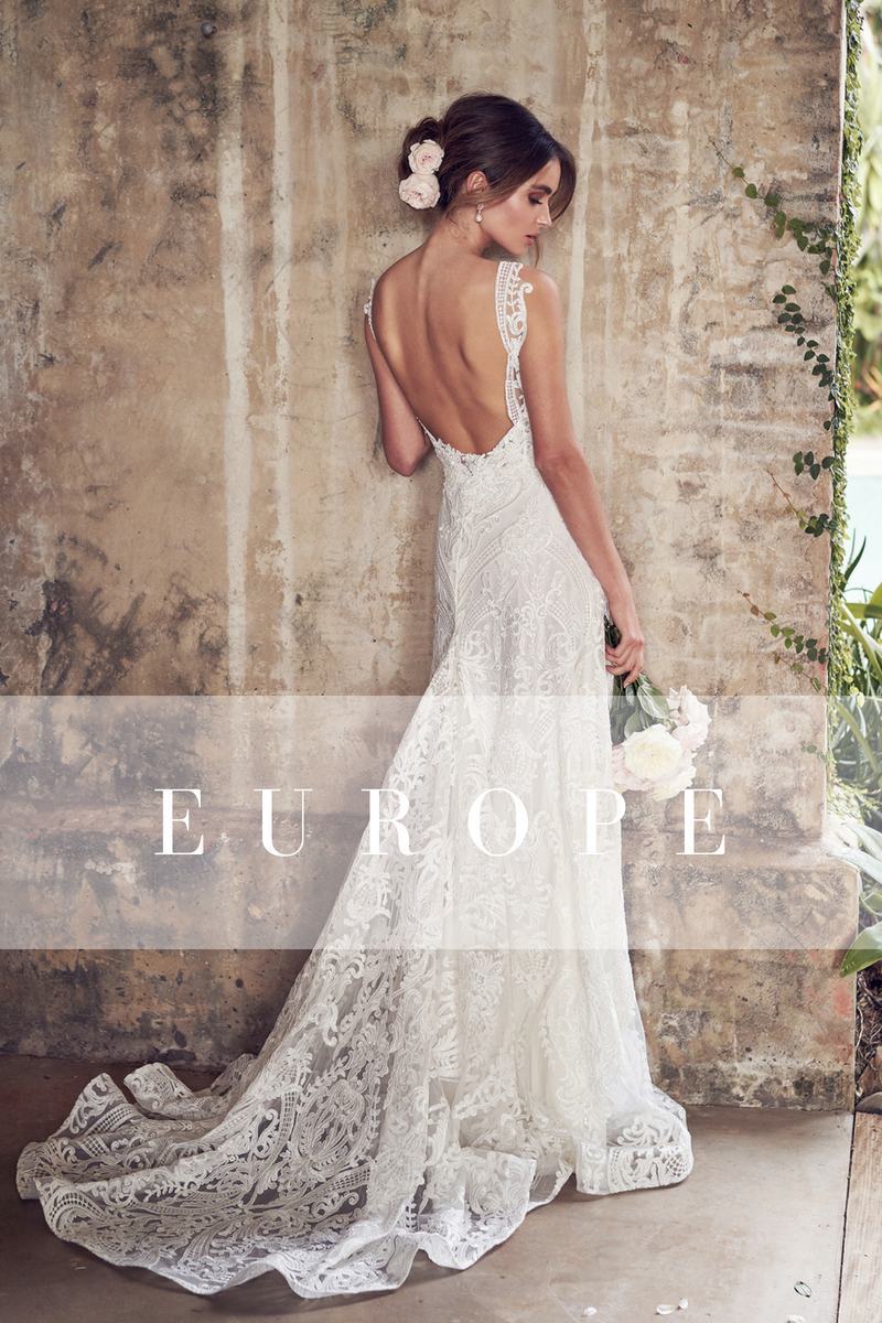 South America Anna Campbell Bridal stockists
