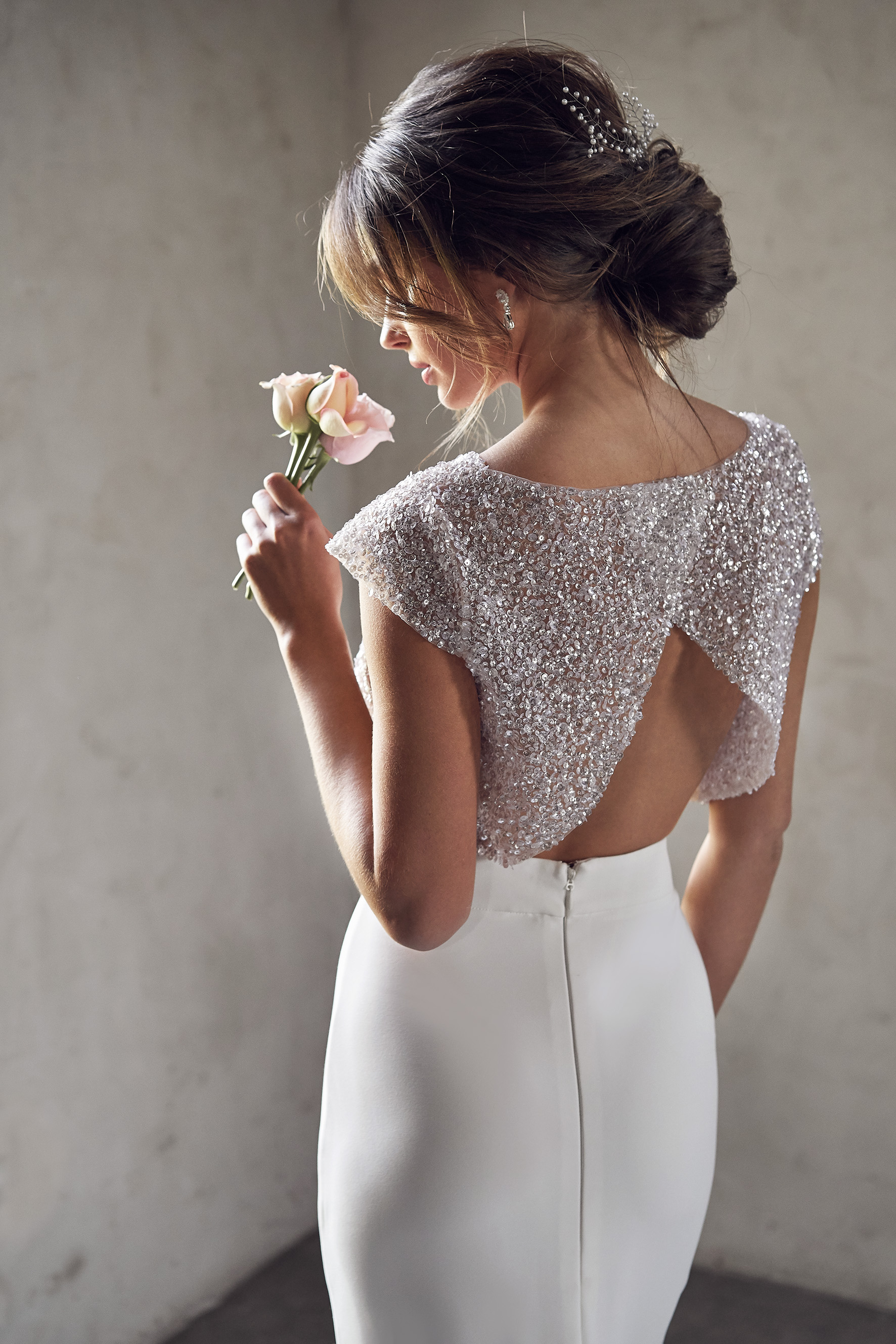 BRIDAL SEPARATES | MEADOW TOPPER