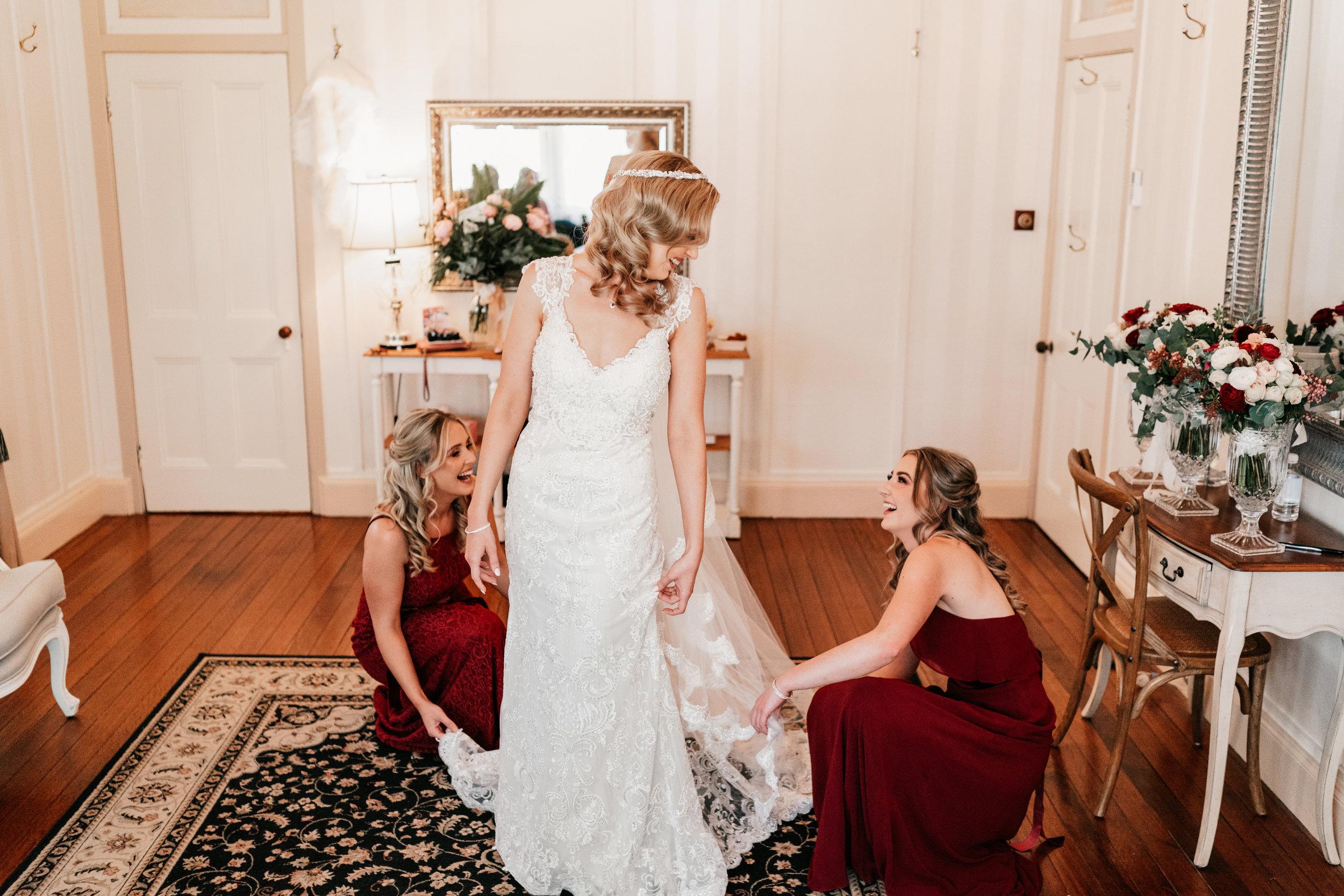Anna Campbell bride Alyssa Dress