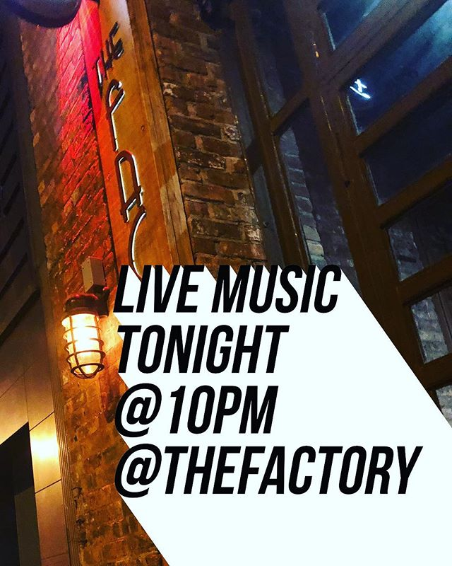 Alex Busi @Newspaceaudio going to be here tonight at 10pm! Come watch:) #liveshow #livemusic #guitar #music #bar #restaurant #food #drinks #dranks #burgers #happyhour #nyc #ny #queens #brooklyn #ridgewood #bushwick #singer #liveperformance #thefactorybk #salmon #frenchfries #fryes #chickenwings #quesadillas #tacos #margaritas #moscowmule