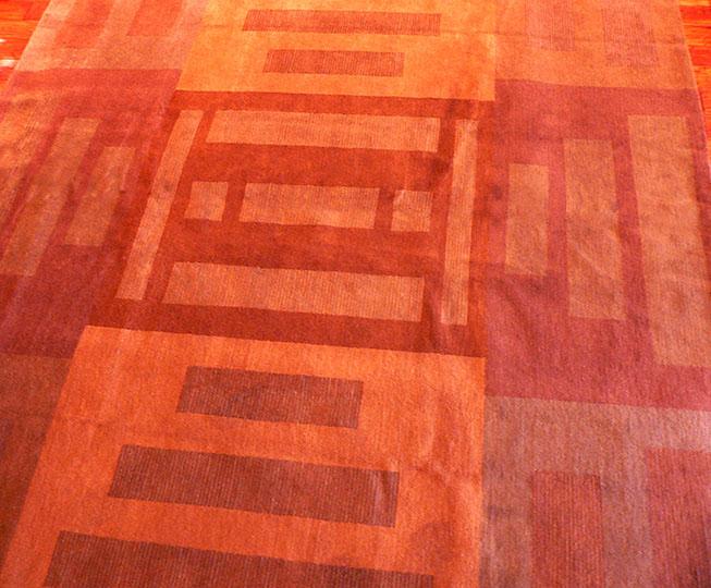 Gaju orange squares rug.jpg