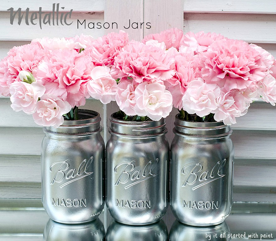 Metallic Vases