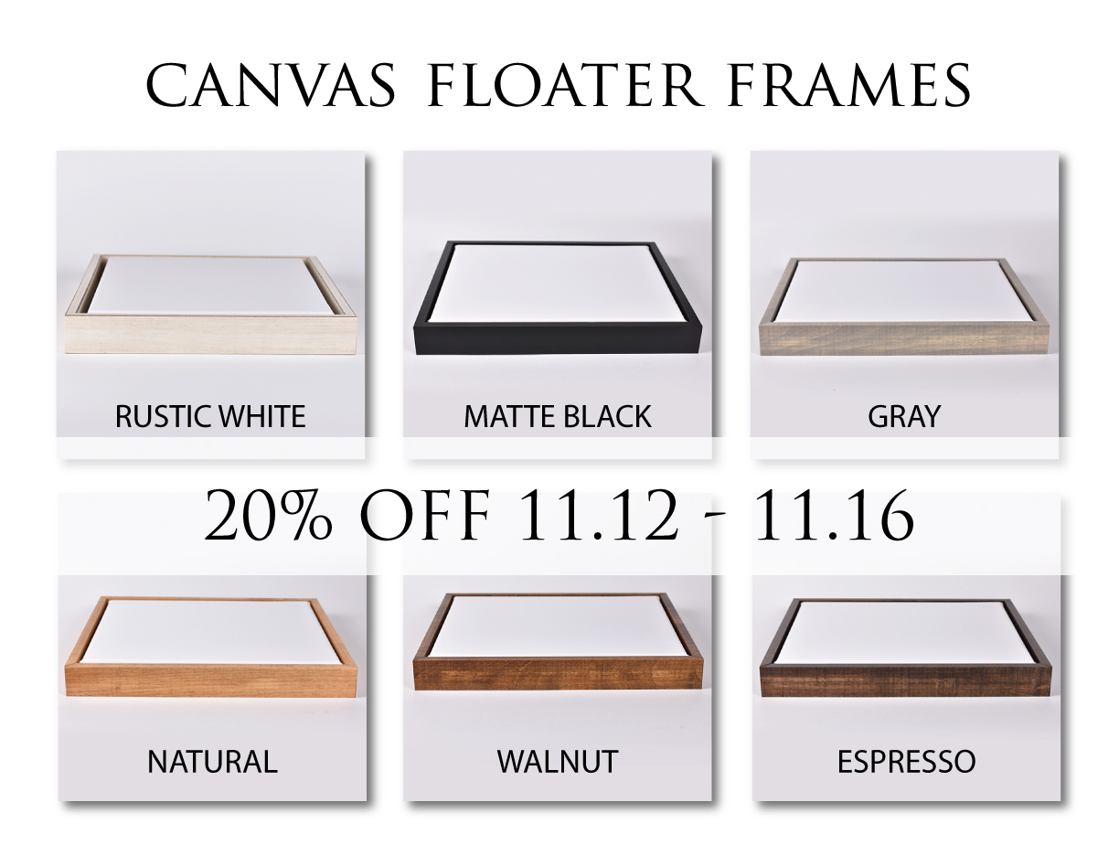 ADD A FRAME TO ANY CANVAS
