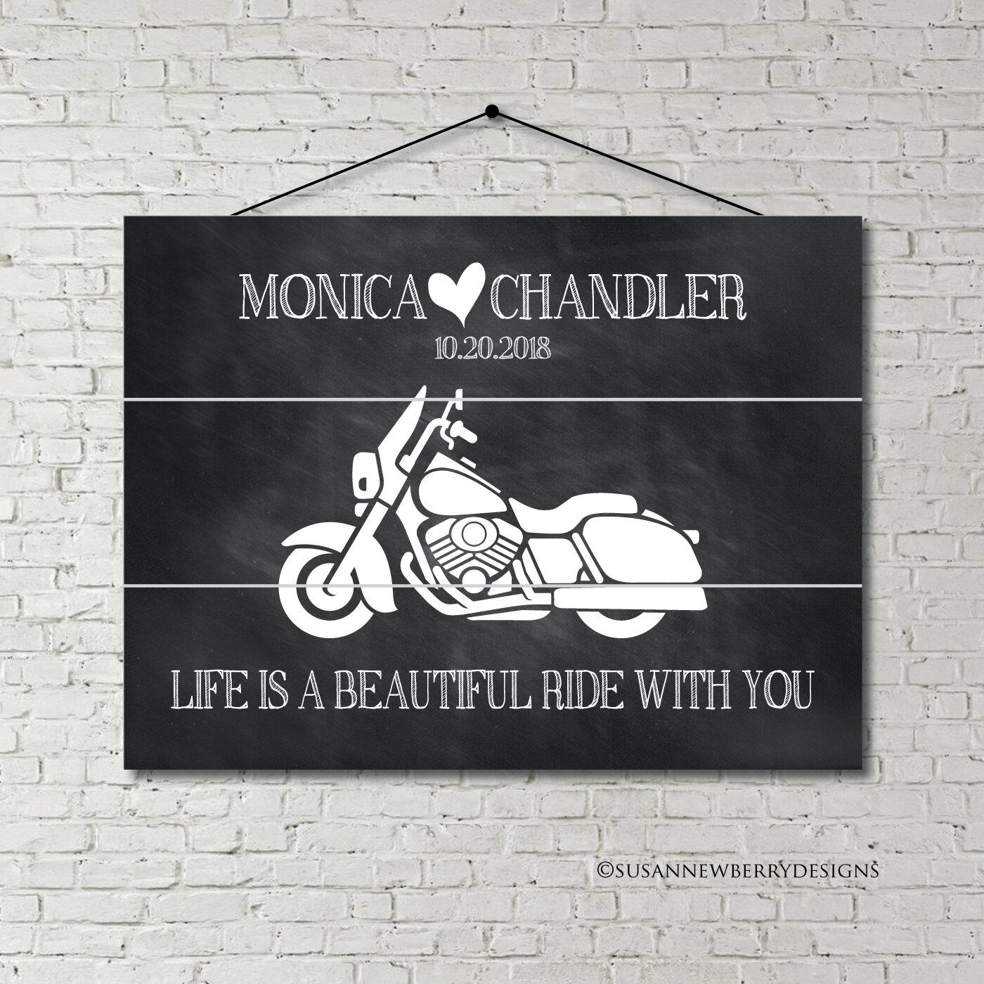 Wood Pallet Motorcycle