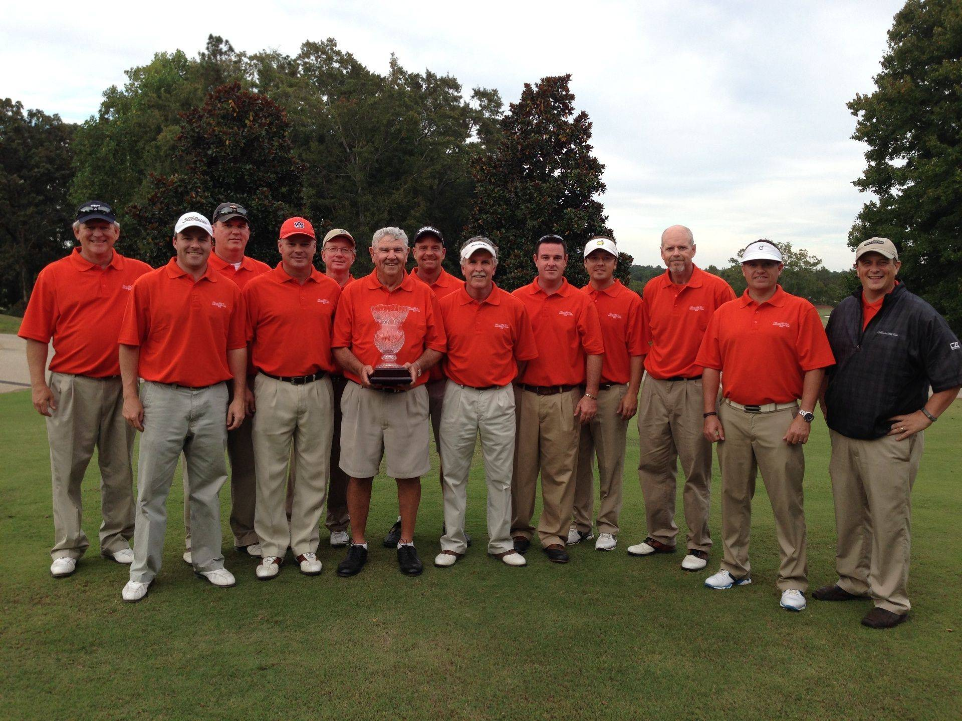 2013 Moore'sMill Club defeated Saugahatchee CC in the annual Challenge Cup matches by a score of 12 1/2 to 11 1/2 Team Members L-R Jim Fullington, James Salter, Steve Graham Troy Maxwell, Philip Minor, Windell Humphries, Bruce Haman, Steve Tillery, Nathan Turner, Jeff Chastain, Mark Halpin and Tommy Roughton. Great Playing Guys!
