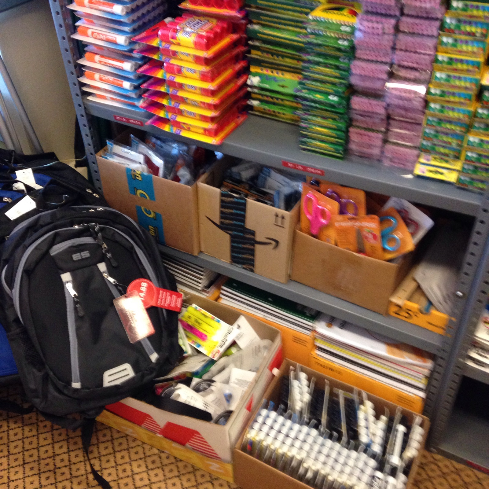 Mid-Year School Supplies For Needy Students within the Sheboygan Area School District.