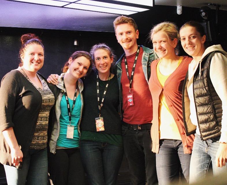 Kara Sevda  Team for Edinburgh Fringe 2016 | Daniella, Lisa, Tierney, William, Kat, and Kaija