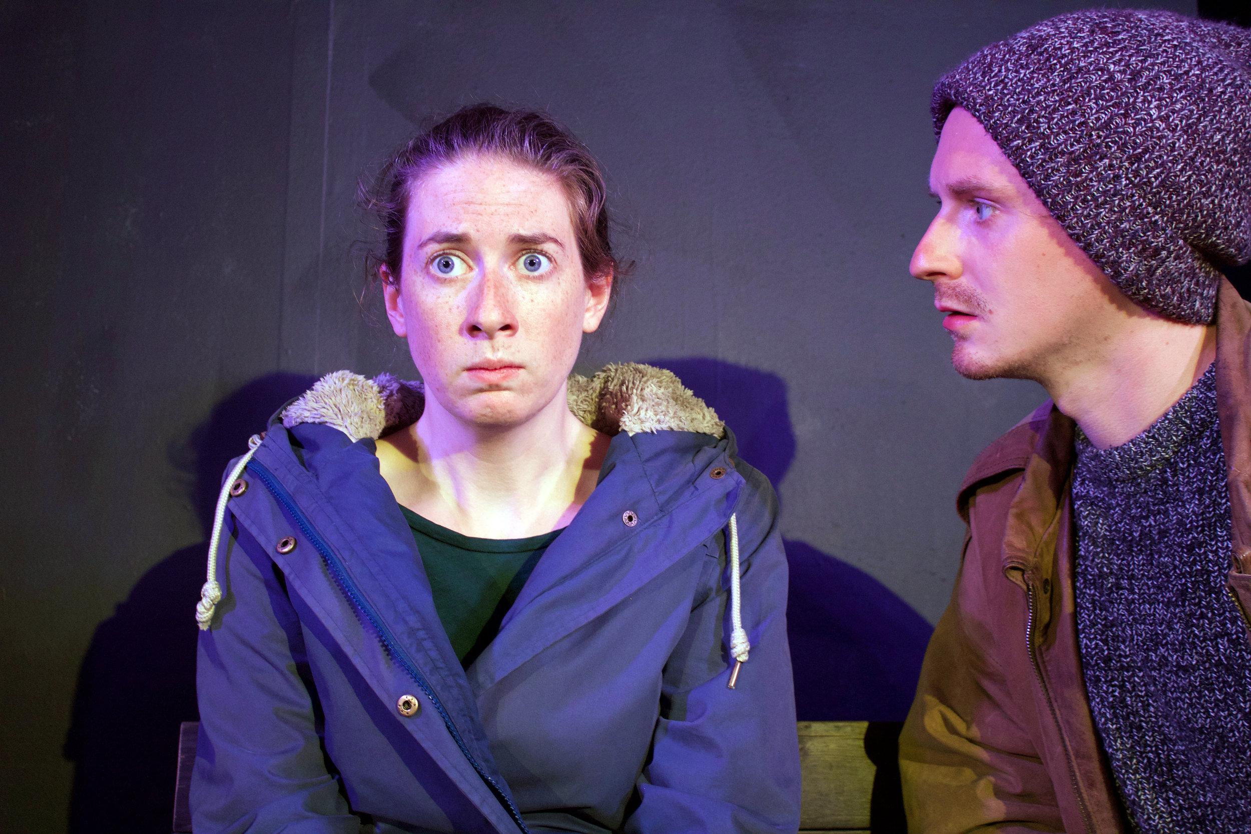 Actors, Tierney Nolen & William Foote - Kara Sevda; Production Still