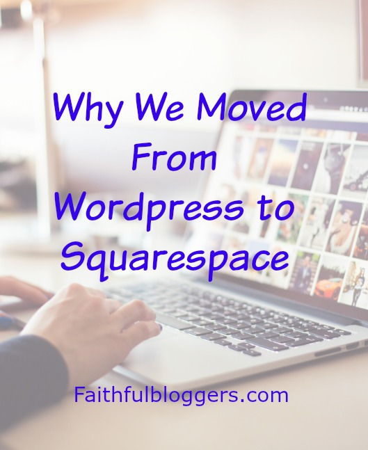 Moving to Squarespace