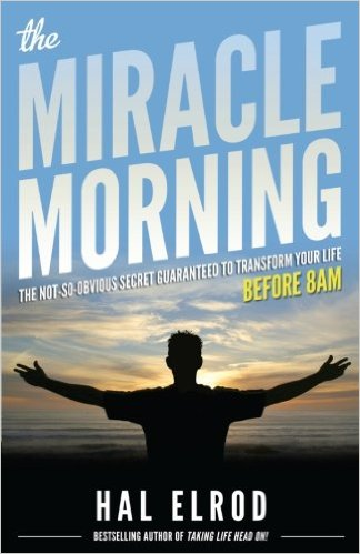 The Miracle Morning: The Not So Obvious Secret Guaranteed to Transform Your Life (before 8:00A.M.) - I have done many things in my life to increase my productivity and effectiveness, creating a morning routine is one of them. Although I do not follow the routine in this book exactly, it encouraged me in the importance of morning routines.