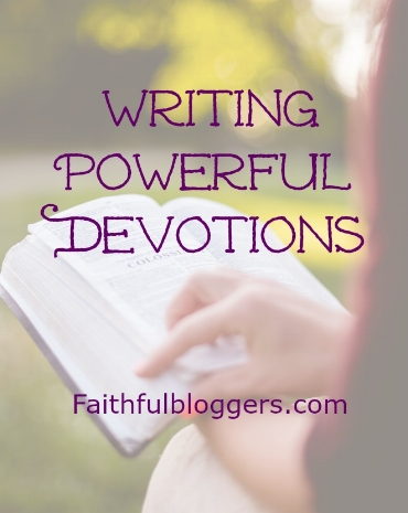 Writing Powerful Devotions