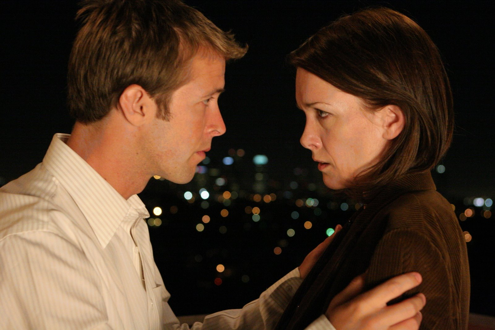 "Robert W. Evans and Tracy Coogan in   ""Another Life""   - written & directed by Nate Ruegger"