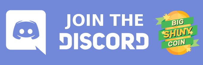 Click the image above to join the Big Shiny Coin Discord family!