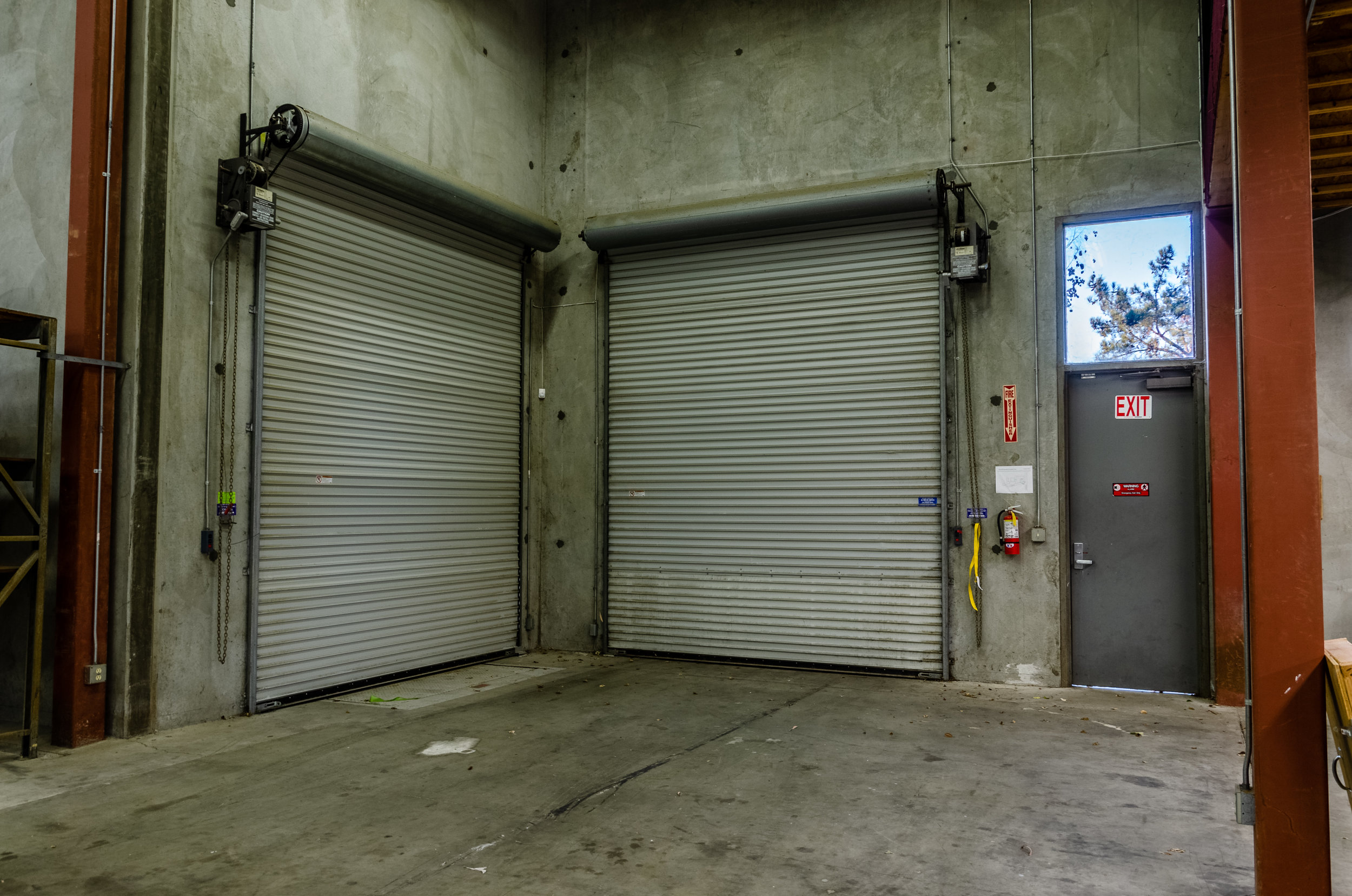 Two Warehouse Loading Doors (Click To View)