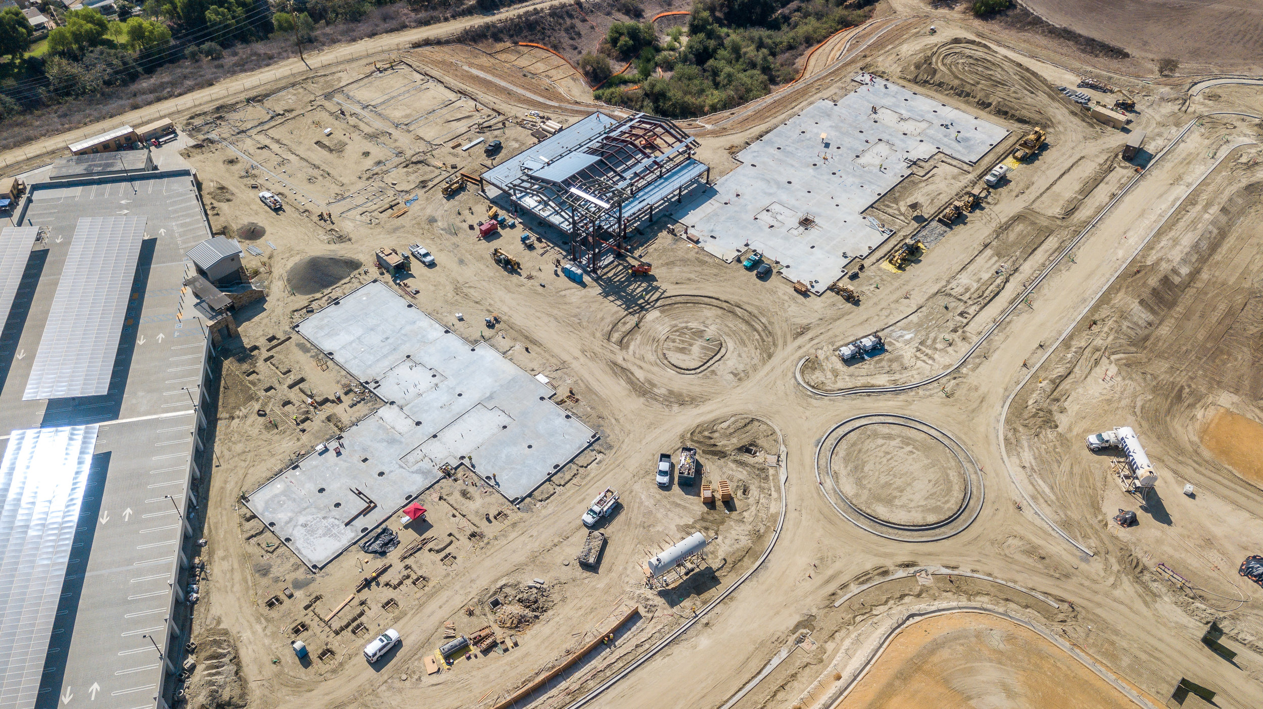 Lake Forest Civic Center Construction Overview