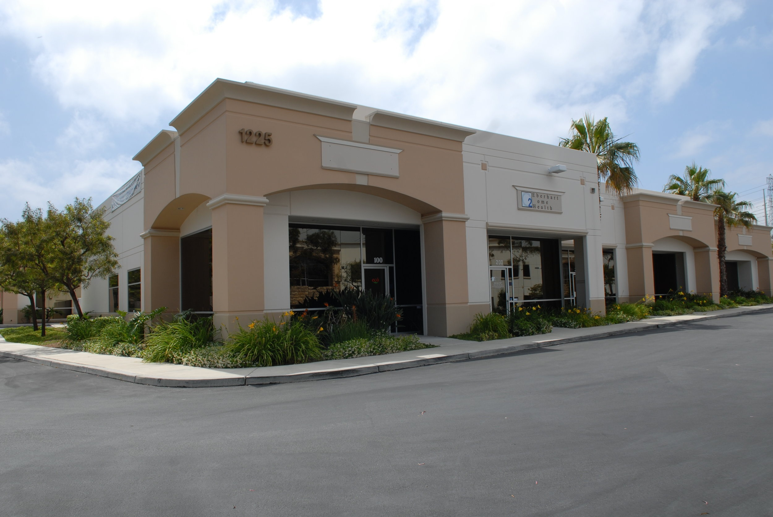 1225  Puerta Del Sol • San Clemente • 2,288sf Industrial Condo • 1,280sf Office • 1,008sf Warehouse • For Sale