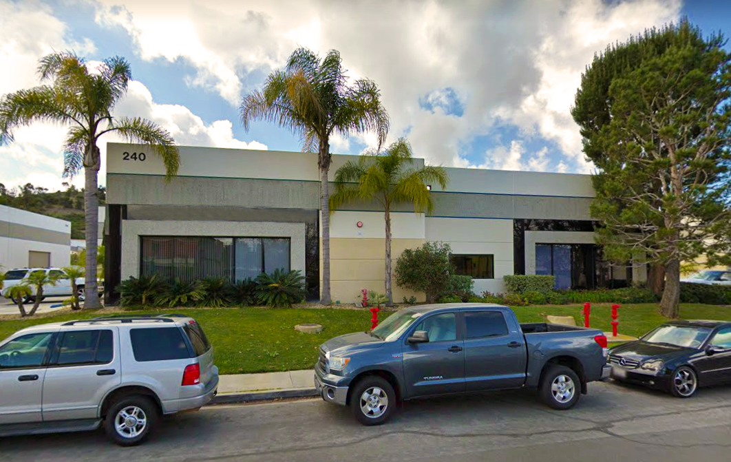 240 Calle Pintoresco • San Clemente • 6,364sf Industrial Building • 854sf Office • 5,510sf Warehouse • For Lease