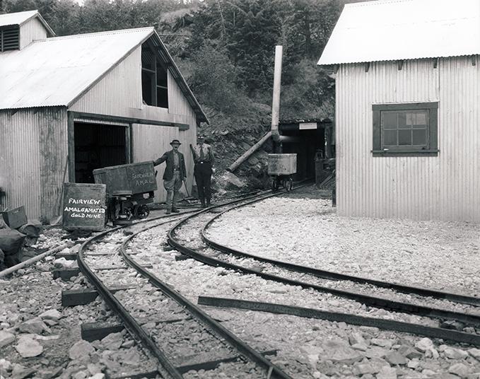Fairview Amalgamated Gold Mine ca 1934