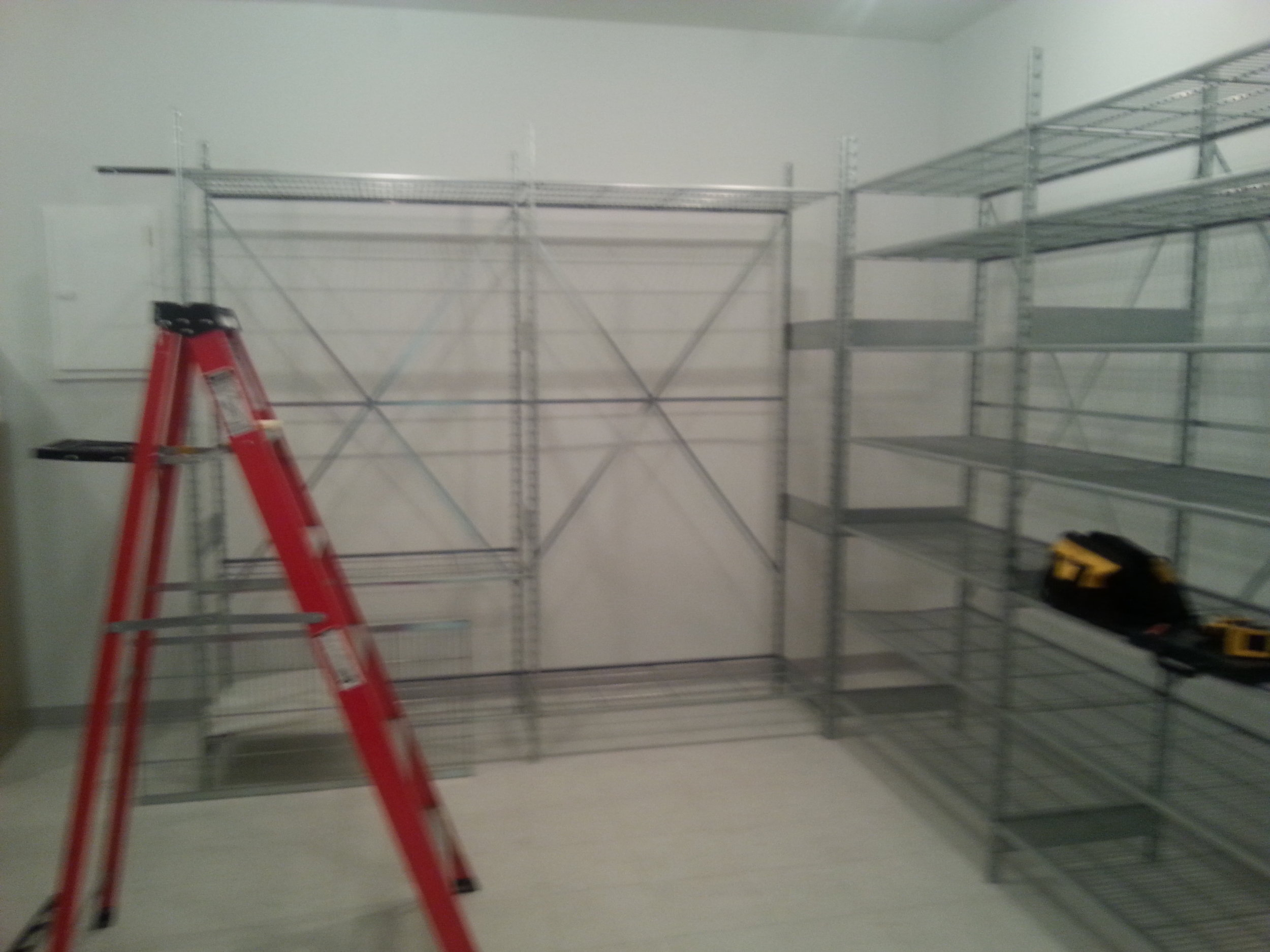 Securing Shelves to Walls