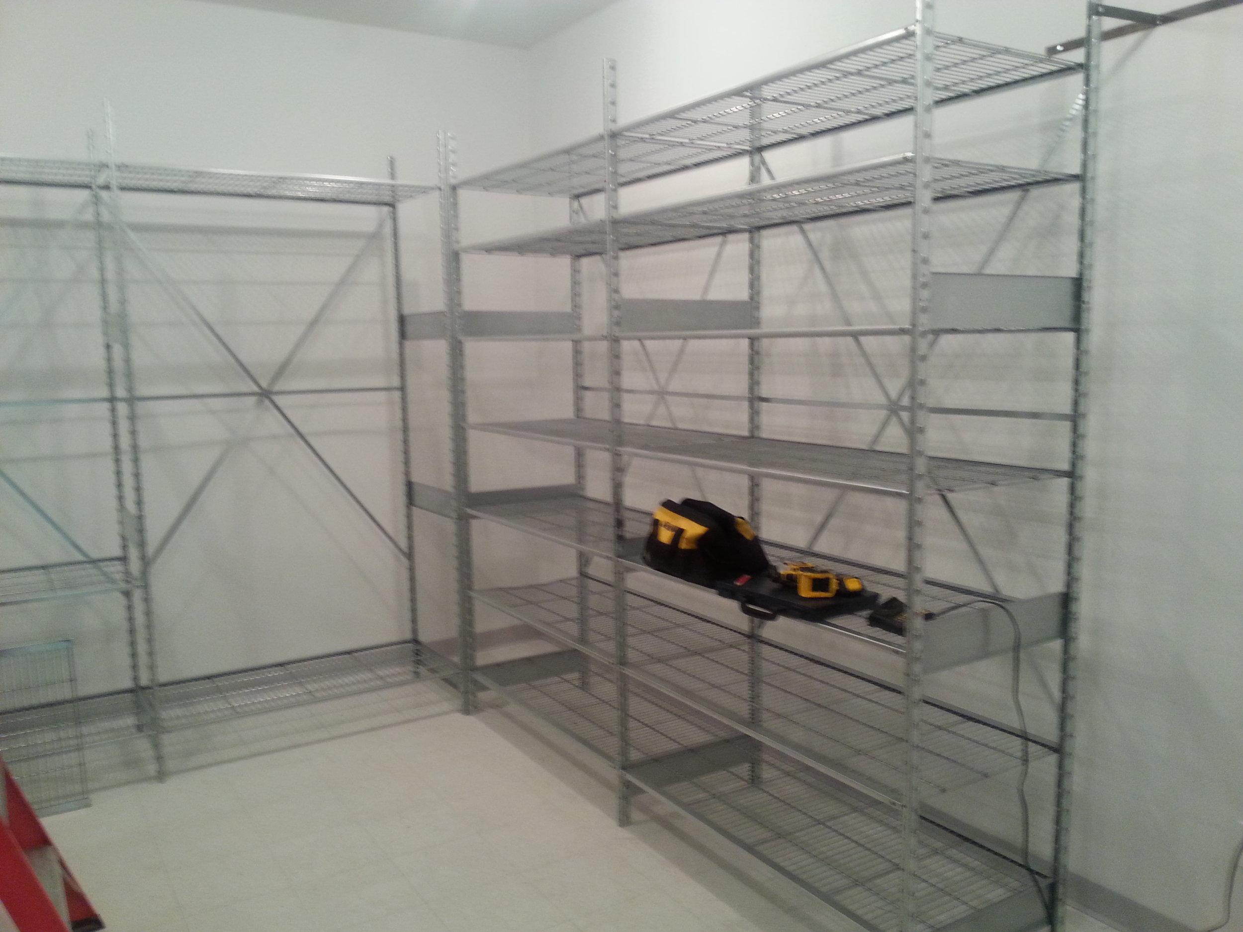 Assembled Shelves