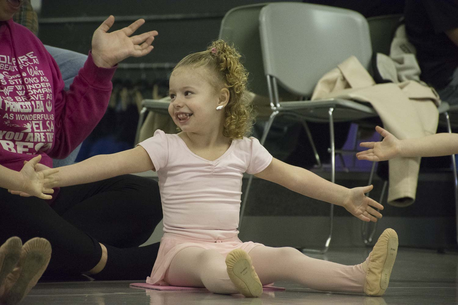I thought dancing would be a great way for my girl to channel her energy. She is quite the opposite in class, more relaxed and just taking it all in. I love seeing this side of my little girl.