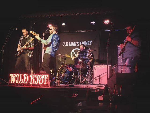 El Cid - 0519  Thanks to @wearewildriot for having us, we'll be back!  #newmusic #oldmansmoney #rock #rocknroll #indierock #silverlake #Hollywood #guitar #drums #bass #alternative