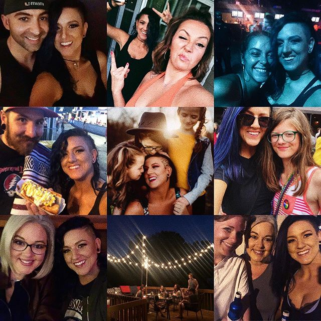 I feel like summer has just begun but we're closing out another month and 2019 is speeding by at a record speed. I've been fortunate enough to have the greatest friends/family by my side.. from nights on the deck to Haydn's first pride.. all the music in between and even more smiles all around.  I have a lot to be thankful for and even more to look forward to. ♥️ I just don't want to see summer go so fast.. if anyone knows how to stop that from happening - let me know. 😂😎