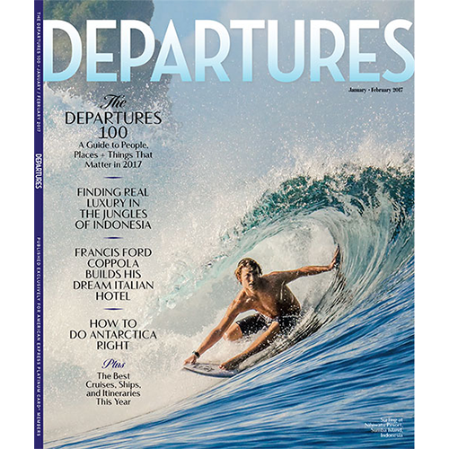 Departures, January/February 2017