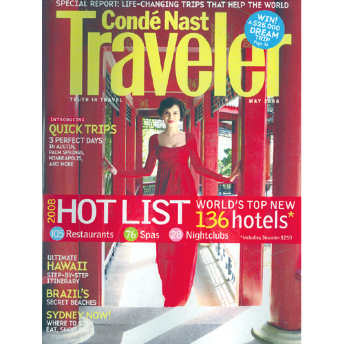 Condé Nast Traveler, May 2008