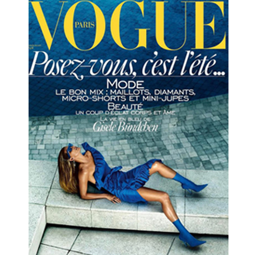 Paris Vogue, July 2017