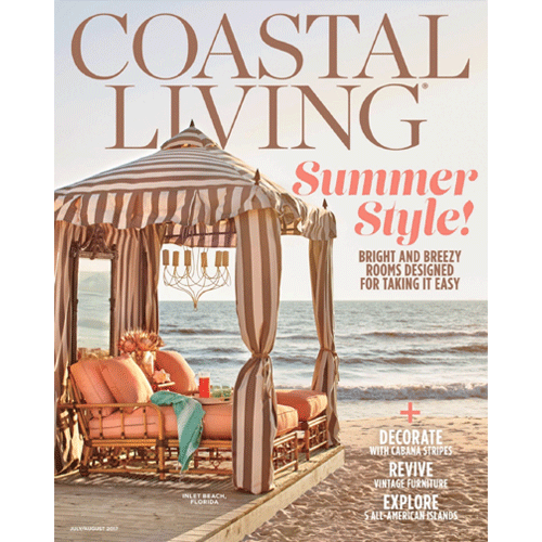 Coastal Living, July/August 2017