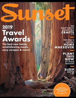 Sunset Magazine, September 2019