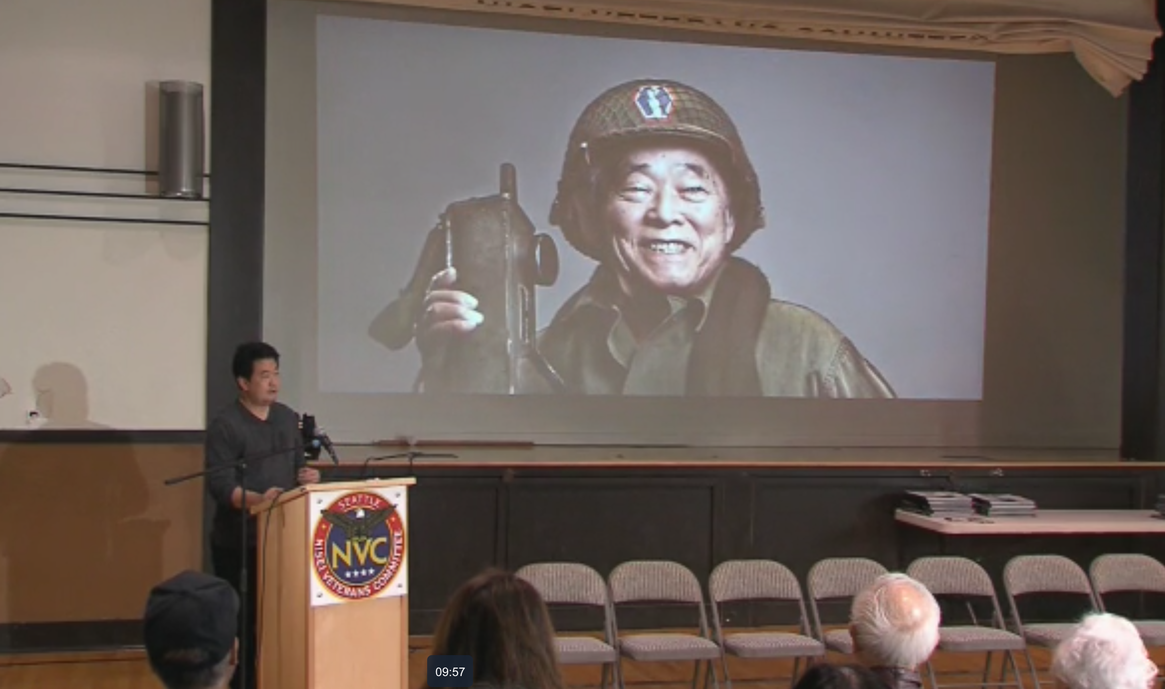 "Shane Sato's ""The Go For Broke Spirit"" talk at  Nisei Veterans Committee  in Seattle, Feb 2018.  WATCH HERE"