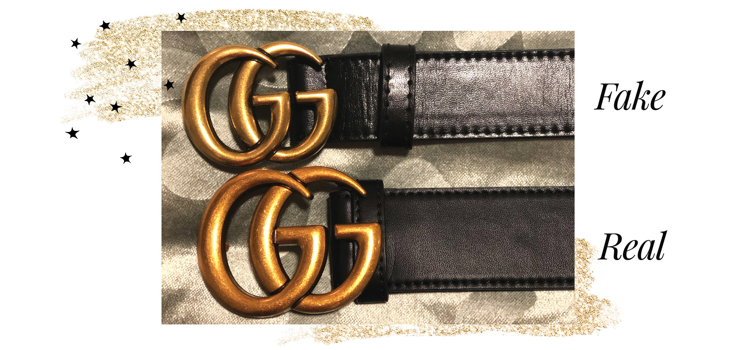 The Difference Between Real and Fake Gucci Belts \u2014 A Little