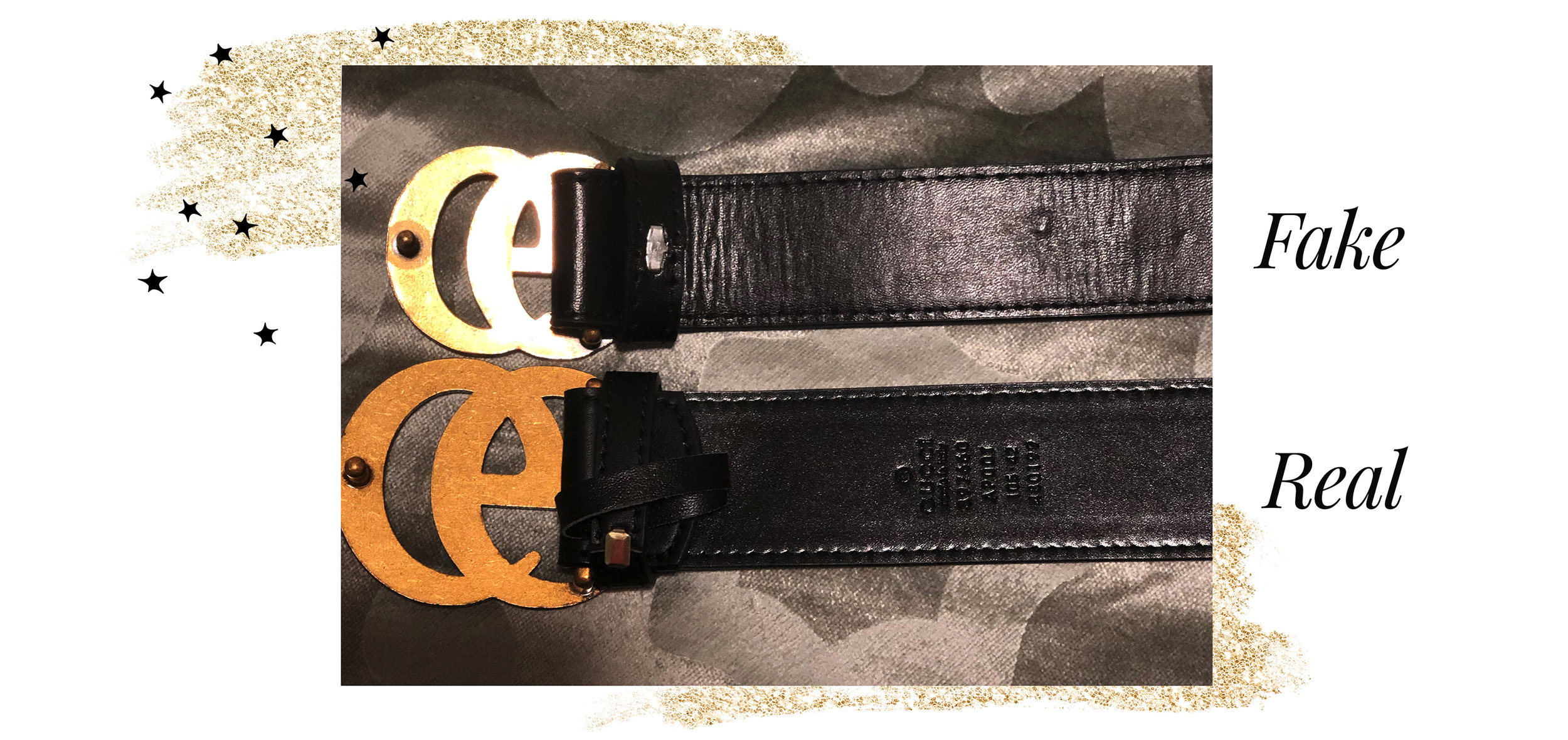 Gucci Belt Serial Number >> The Difference Between Real And Fake Gucci Belts A Little