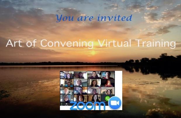 Art of Convening Virtual Training