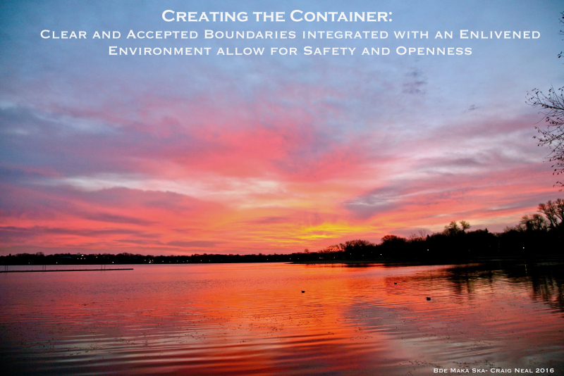 Purpose Moment: Creating the Container